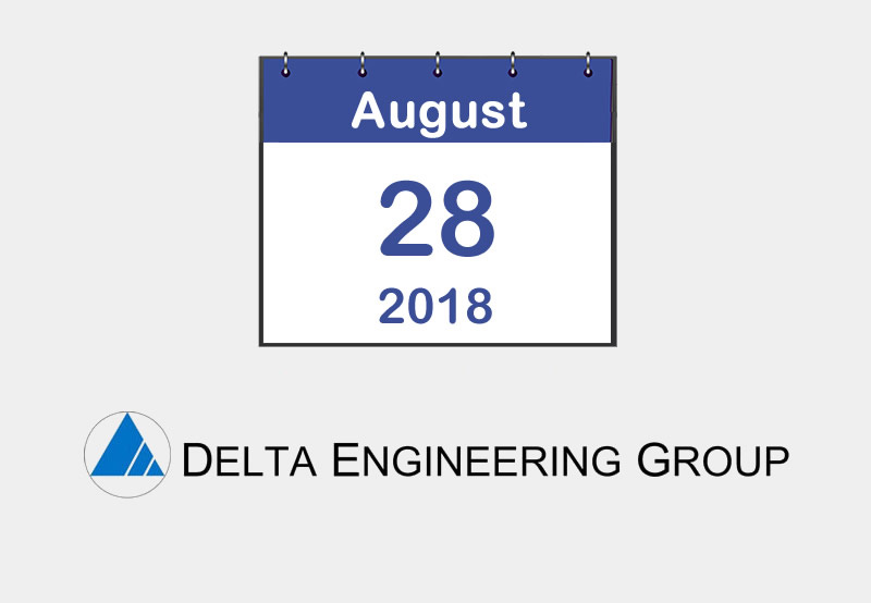 August 2018 - Delta Engineering Group Safety Award