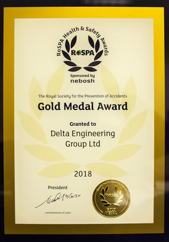 delta engineering group awards 2018